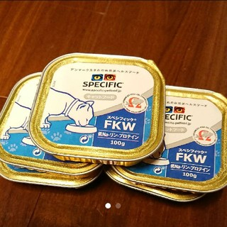 スペシフィック(SPECIFIC)のスペシフィック FKW 腎臓サポート 猫 5個セット(ペットフード)