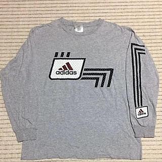 アディダス(adidas)のadidas 90s レア物❗️ビックスタイル‼️(Tシャツ/カットソー(七分/長袖))