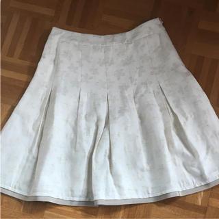 エムズグレイシー(M'S GRACY)のエムズグレイシー 花柄スカート(ひざ丈スカート)