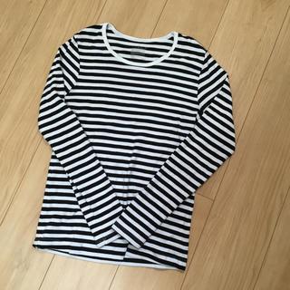 MUJI (無印良品) - 無印良品 Sサイズ ボーダーTシャツ
