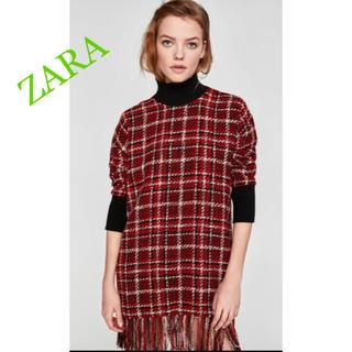 ZARA - ZARA ツイード ワンピース