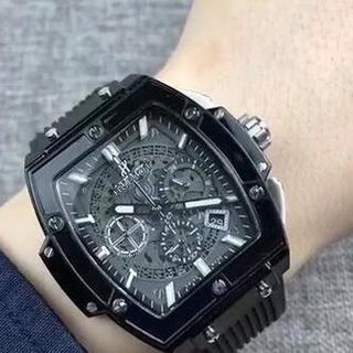 ウブロ(HUBLOT)のHUBLOT ウブロ メンズ ブラック 腕時計(その他)