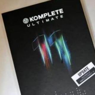 KOMPLETE 11 ULTIMATE UPD(ソフトウェア音源)