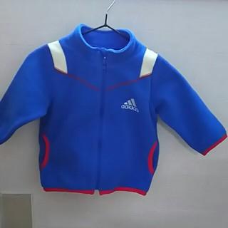 アディダス(adidas)の80男児青色フリース(ジャケット/コート)