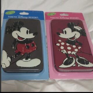 ディズニー(Disney)のDisney iPhone6、6s スマートフォンケース ミッキーミニー(iPhoneケース)