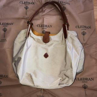 クレドラン(CLEDRAN)のCLEDRAN クレドラン ベージュ ショルダーバッグ 激安!(ショルダーバッグ)