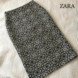 ザラ(ZARA)の美品 ZARA ザラ タイトスカート(ひざ丈スカート)
