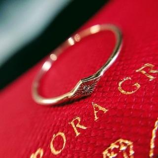 オーロラグラン(AURORA GRAN)の最終売り切り♪【AURORA GRAN】K10プチダイヤリング#11♪(リング(指輪))