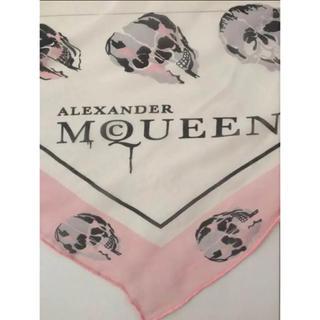 アレキサンダーマックイーン(Alexander McQueen)のアレキサンダーマックイーン ❣️ストール❤︎ピンク(ストール/パシュミナ)