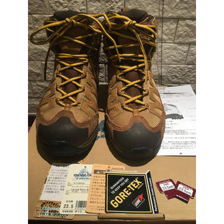 モンベル(mont bell)のモンベル トレッキングシューズ 登山靴 23.5cm(登山用品)