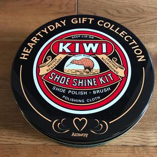 アムウェイ(Amway)の【レア】アムウェイ KIWI 空き缶(小物入れ)