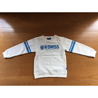 ケースイス(K-SWISS)の♡新品♡ K-SWISS トレーナー 130サイズ(Tシャツ/カットソー)