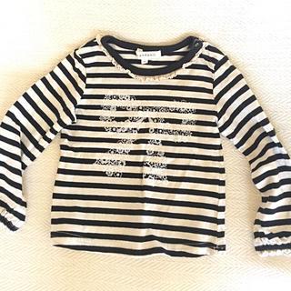 サンカンシオン(3can4on)の長袖Tシャツ 90センチ(Tシャツ/カットソー)