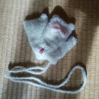 キッズフォーレ(KIDS FORET)のKids Foret 女の子 ねこ耳手袋(手袋)