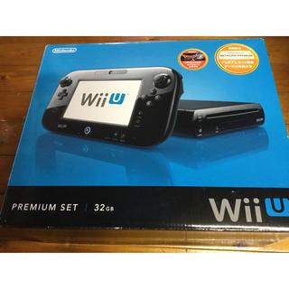 ウィーユー(Wii U)の美品ニンテンドーWii U プレミアムセット 32GB kuro黒 本体 任天堂(家庭用ゲーム本体)