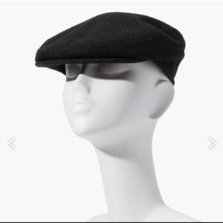 トゥモローランド(TOMORROWLAND)のトゥモローランド TOMORROWLAND ハンチング チャコールグレー(ハンチング/ベレー帽)