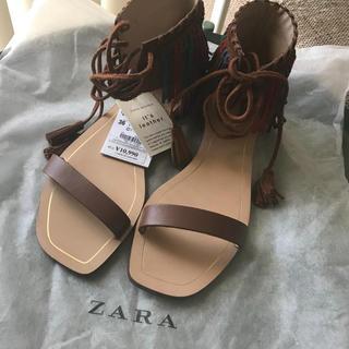 ZARA - 新品 ZARAサンダル