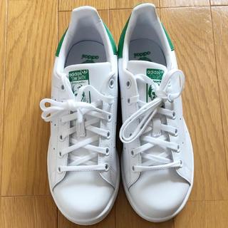 adidas - 新品 未使用 アディダス adidas スタンスミス 24cm 白 緑 グリーン