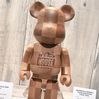 House Industries  カリモク ベアブリック BE@RBRICK