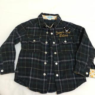 チッカチッカブーンブーン(CHICKA CHICKA BOOM BOOM)のシャツ 100センチ(Tシャツ/カットソー)