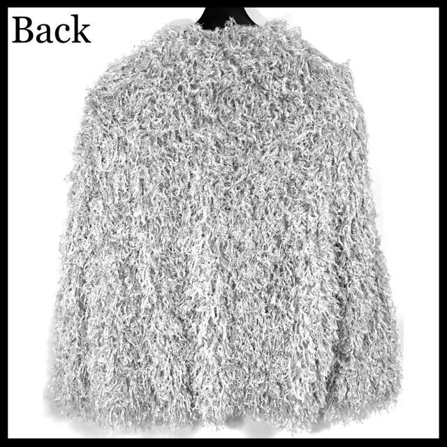 ZARA(ザラ)の◆ZARA ゴージャス モコモコ モップ ファー コート ジャケット◆ レディースのジャケット/アウター(毛皮/ファーコート)の商品写真