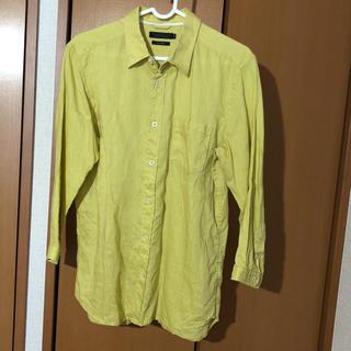 スリック(SLICK)のSLICK 七分袖リネンシャツ(シャツ)