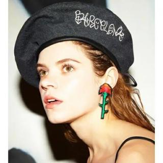 パメオポーズ(PAMEO POSE)のpameo pose デニム ベレー帽(ハンチング/ベレー帽)