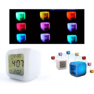 カラフルに光る置き時計 LED (その他)