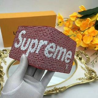 シュプリーム(Supreme)のルイヴィトン レディース折り財布 二つ折り コンパクト モノグラムSUPREME(財布)
