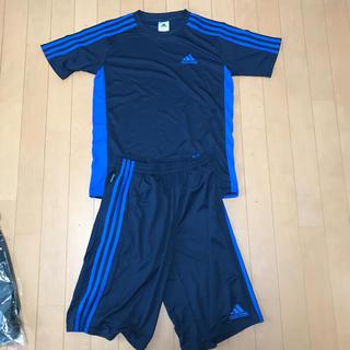 adidas - アディダスサッカーシャツ上下160