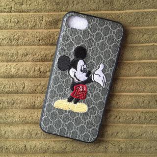 ディズニー(Disney)の在庫セール!新品◾️刺繍ミッキーマウスiPhoneケース(iPhoneケース)
