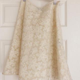 エムズグレイシー(M'S GRACY)のエムズグレイシー スカート 美品(ひざ丈スカート)