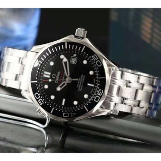 オメガ(OMEGA)の新品 OMEGA 時計 自動巻き1:1 腕時計 メンズ 男性用 ブラック(腕時計(アナログ))