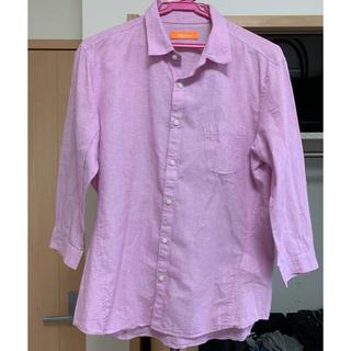 ハイダウェイ(HIDEAWAY)のシャツ HIDEAWAYS NICOLE ピンク メンズ(シャツ)