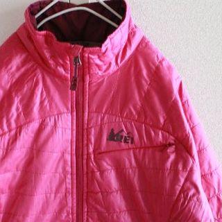 US アールイーアイ pinkpu PRIMALOFT 軽量 ジャケット(登山用品)