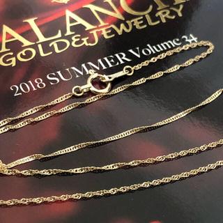 アヴァランチ(AVALANCHE)のアヴァランチ YG 10K ネックレス 50cm(ネックレス)
