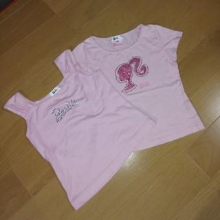 バービー(Barbie)のBarbieキッズ2点セット 120(Tシャツ/カットソー)