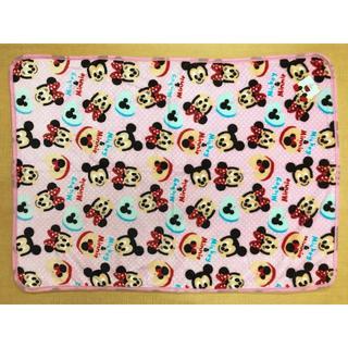 ディズニー(Disney)の【新品・送料無料】ミッキー&ミニー ピンク ひざ掛け 約70×100cm(毛布)