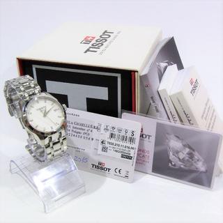 ティソ(TISSOT)のティソ クチュリエ 時計 35P ダイヤ 100m防水 QZ ギャランティ有(腕時計)