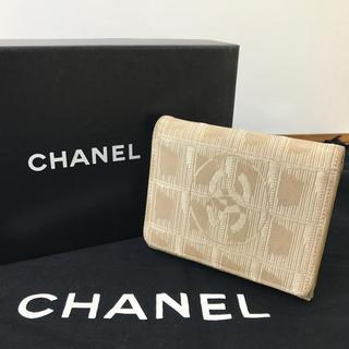 シャネル(CHANEL)の鑑定済み 正規品 CHANEL シャネル ニュートラベルライン 折り財布 財布(財布)