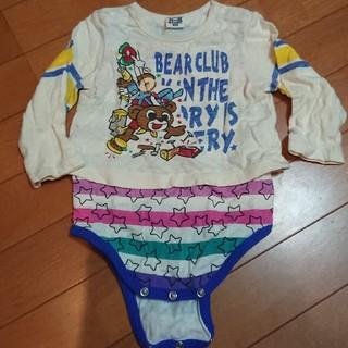 リトルベアークラブ(LITTLE BEAR CLUB)のbear club ロンパース☆size80(ロンパース)