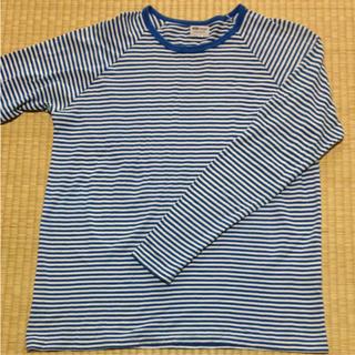 サンスペル(SUNSPEL)のSunspel ボーダーTシャツ L(Tシャツ/カットソー(七分/長袖))