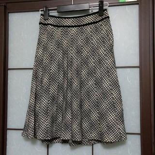 ニジュウサンク(23区)の23区 プリーツスカート(ひざ丈スカート)
