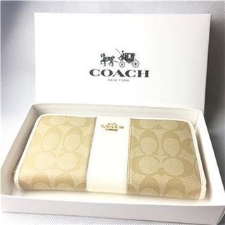 コーチ(COACH)のコーチ COACH F54630 ラグジュアリー  長財布(財布)