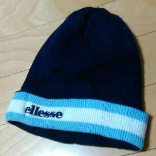 エレッセ(ellesse)のエレッセ   スキー スノボ用ニット帽(ウエア/装備)