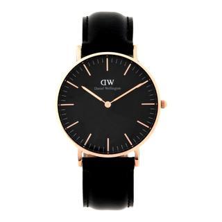 ダニエルウェリントン(Daniel Wellington)のDaniel Wellington ClassicBlack 40mm 腕時計(腕時計(アナログ))