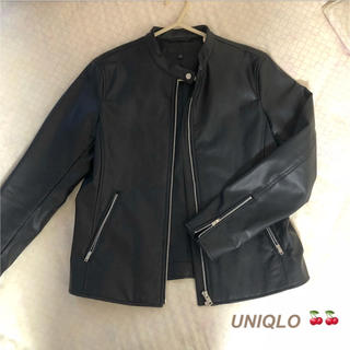 ユニクロ(UNIQLO)のUNIQLO ライダース(ライダースジャケット)