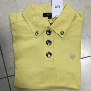 ニジュウサンク(23区)の未使用品  23区スポーツ レディースポロシャツ 長袖(ポロシャツ)