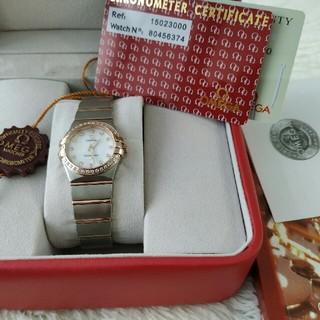 オメガ(OMEGA)のオメガコンステレーションクォーツムーブメント(腕時計(アナログ))