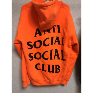 アンチ(ANTI)のAnti social social club✖︎undefeated パーカー(パーカー)